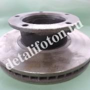 Диск тормозной передний Фотон(Foton)-1049С 3103102-HF324(FTP)