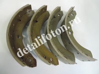 Колодки тормозные задние комплект 4шт Фотон(Foton)-1049С BJ1029-ЕС BMK K430