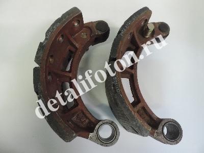 Колодки тормозные задние комплект 2шт Фотон(Foton)-1069/1099 2401.31G1-085/185
