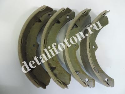 Колодки тормозные задние/передние к-т 4шт Фотон(Foton)-1041/1049А BJ1041 BMK