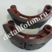 Колодки тормозные передние комплект 2шт Фотон(Foton)-1069 110533-TF3501120/80