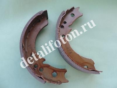 Колодка ручного тормоза комплект 2 шт.Фотон(Foton)-1049С/1039 D120-3507-020