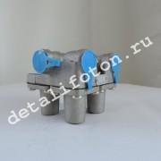 Клапан тормозной защитный 4-х контурный Фотон(Foton)-1069 1106635615001