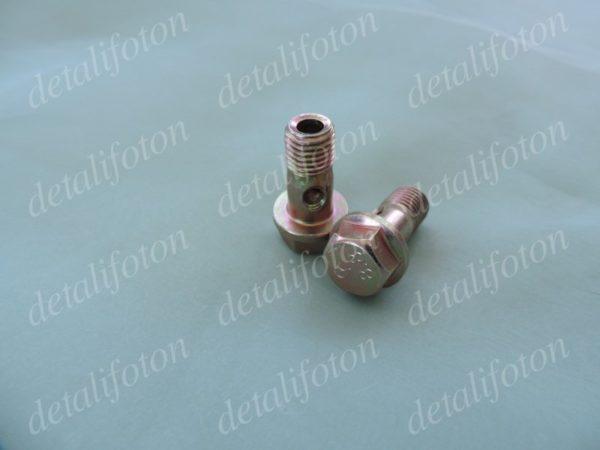 Болт пустотелый масляной трубки ТКР Фотон(Foton)-1039/1049С E049339000109