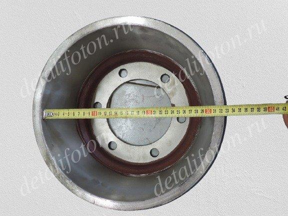 Барабан тормозной задний Фотон(Foton)-1061/1069 Евро-III 3104102-HF16030FTB