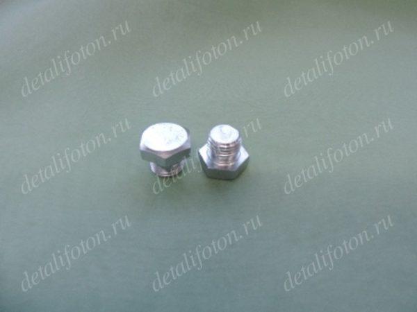 Болт заглушка кронштейна топливного фильтра Фотон(Foton)-1069/1099 T0650204