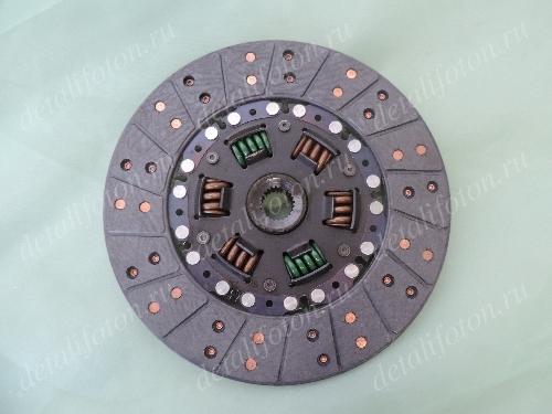 Диск сцепления ведомый шлицы 24шт Фотон(Foton)-1039/1049С E049308000010