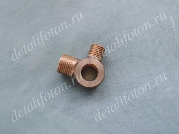 Тройник топливной трубки Фотон (Foton)-1049А/1069/1093/1099 T73201107