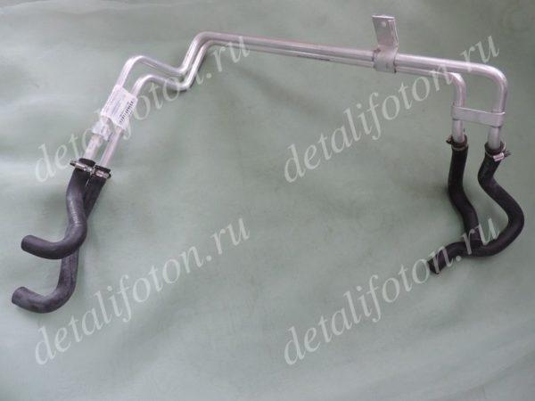 Трубки отопителя кабины с патрубками Фотон(Foton) -1041/1049 1B18081100156