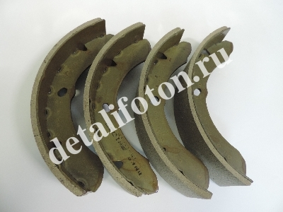 Колодки тормозные задние/передние Фотон 1039 (4шт. компл.), FOTON BJ1039E2