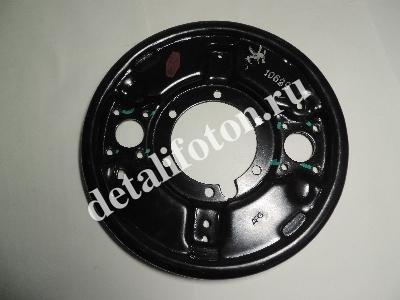 Щит заднего тормоза левый Фотон(Foton)-1039 AUMARK BJ1039E2-F4-1