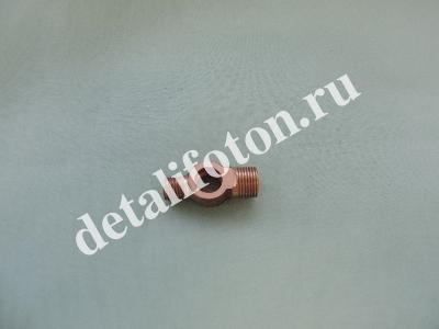 Штуцер обратки кронштейна фильтра ТОТ Фотон (Foton) 1049/1069/1099 (T31726601)