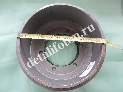 Барабан тормозной передний 6 отв. Фотон (Foton)-1049A 3103102-HF324FTA
