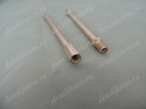 Удлинитель вентиля колеса металлический прямой L=140мм HH03814CM
