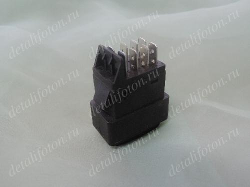 Клавиша (выключатель) обогрева зеркала заднего вида Фотон(Foton)-1113/1138/1163 1B24937350020