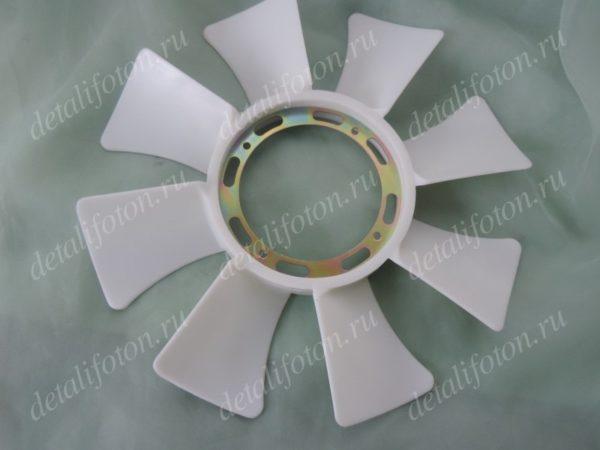 Вентилятор системы охлаждения Фотон(Foton)-1049 двигатель Исузу E049351000046