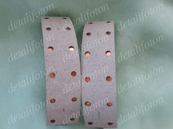 Колодки тормозные перед/зад комплект 4шт.Фотон(Foton)-1039 BJ1039E2-EB