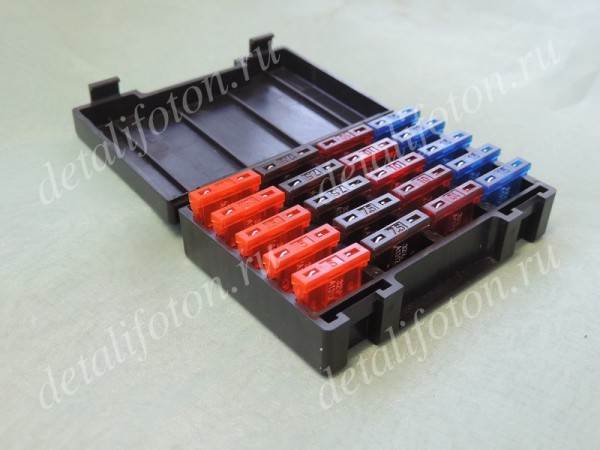 Комплект предохранителей в пенале Фотон (Foton) 1124139180001